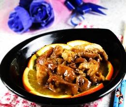 香橙鸡腿肉---米饭的杀手