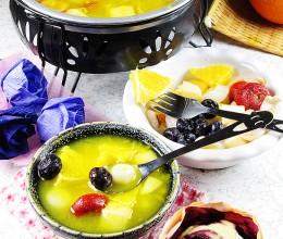 浪漫温馨下午茶小火锅---水果火锅