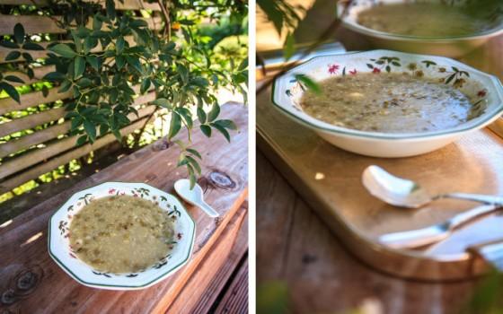 《绿豆杂粮小米粥》来碗清爽养生粥整顿一下大鱼大肉后的肠胃