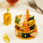 预热情人节夜宴――开心果鸡肉沙拉