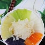 春节家宴讨口彩的五福临门菜-----鸡汁醉蔬