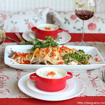 简单5步做出超美味清蒸鱼-清蒸海鲈鱼