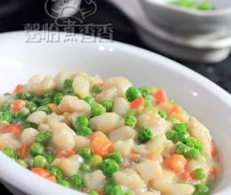 餐桌上的春天----鲜豌豆炒鱼丁