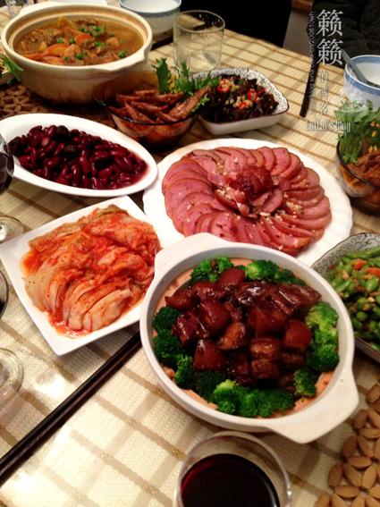【闹元宵】家宴是最表心意的筵席,实拍我家的元宵小家宴!