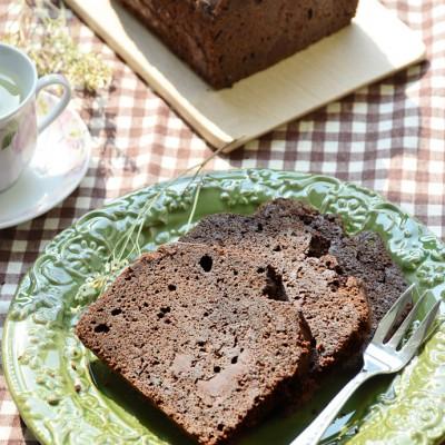 风靡全球的大师级配方『海盐巧克力磅蛋糕』