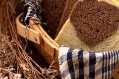 献给糖尿病患者的无糖软面包-----双色双麦吐司