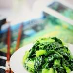 江南味道的炒青菜