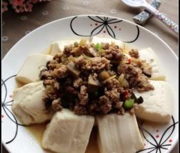 自制一碗汤鲜料足的简易版豆腐脑