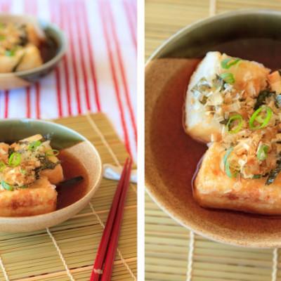 《日式烧豆腐》另一种很不错的简单又很美味的豆腐吃法