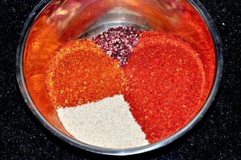 老成都辣椒油的制作之二辣椒油