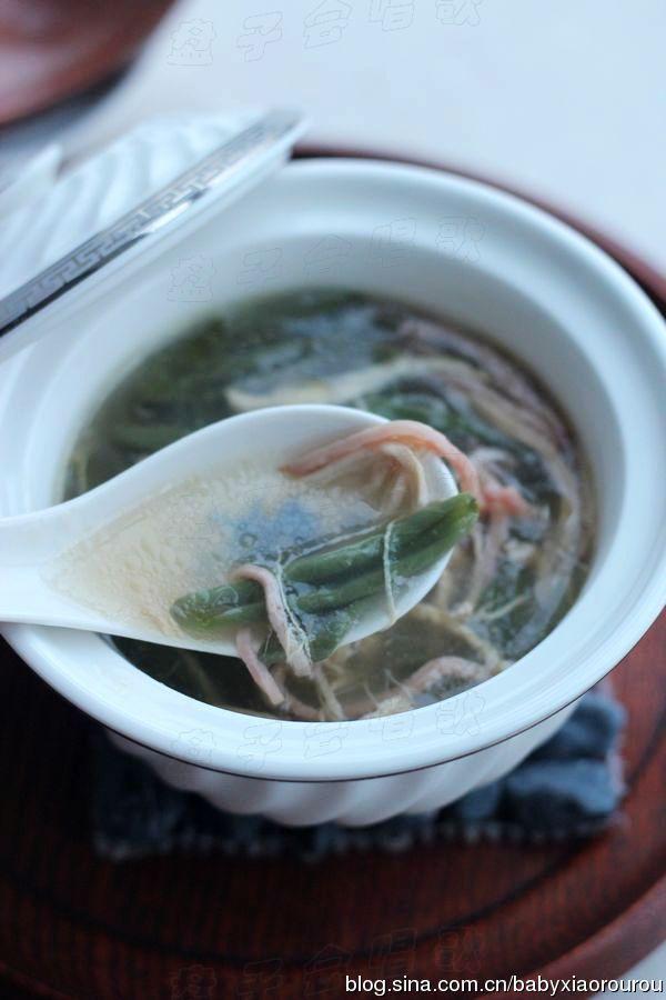 在家轻松做杭州传统名菜——【西湖莼菜羹】