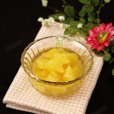 【菠萝罐头】简单四步做最经典怀旧的菠萝罐头