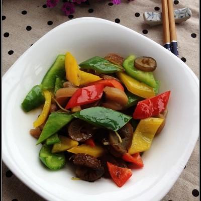 蔬香世家健康美食素身季——彩椒海茸筋