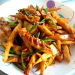 食·记——鲜美、简约到极致的油煸笋