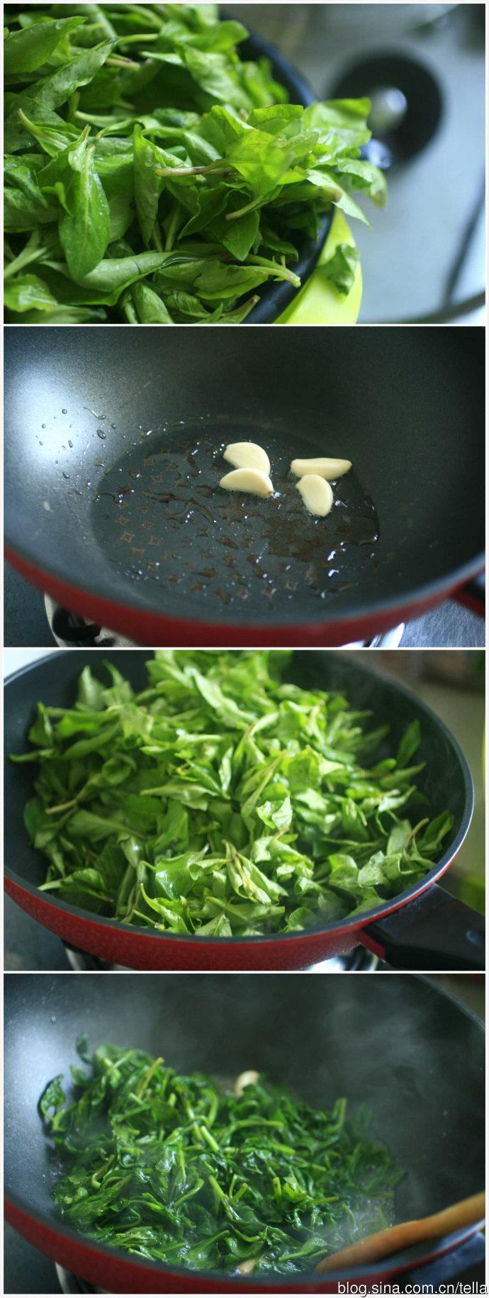 清火小野味。油盐枸杞芽。