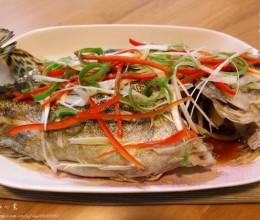 #高考神菜#——桃花流水【清蒸鳜鱼】