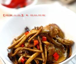 恢复更新·茶树菇炒五花肉