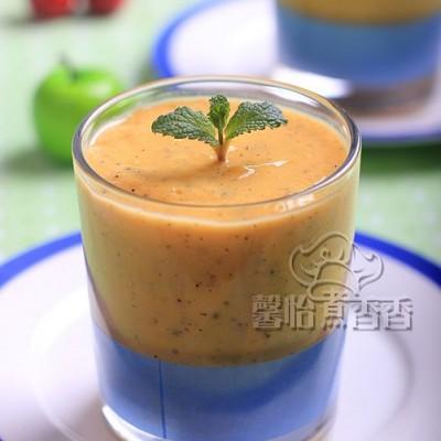 拒绝食品添加剂,健康来自纯天然---自制芒果酸奶奶昔