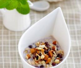#高考神菜#早餐夜宵两相宜:奶香红豆燕麦粥