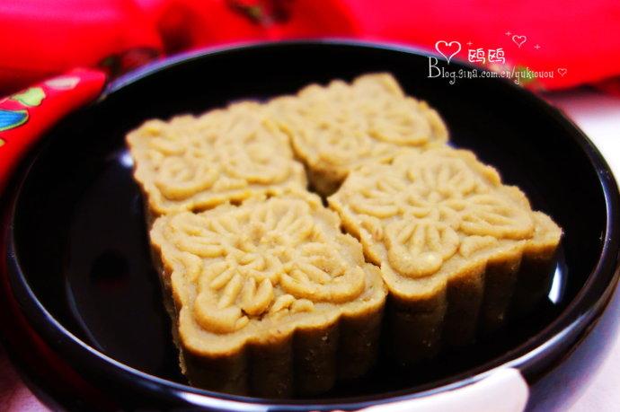为考生清热降火、补充能量的美味点心【绿豆酥饼】(#高考神菜#)