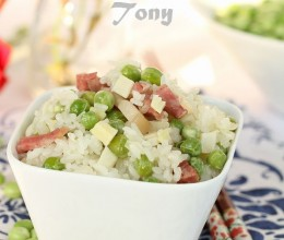 吃一碗香喷喷的江南版立夏豌豆饭