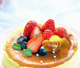 舌尖上的幸福----苏芙蕾奶酪蛋糕
