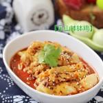 上海川菜馆子里人气第一的菜【钵钵鸡】