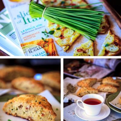 《培根芝士香葱英式烤饼》让人不得不爱的百分百活力下午茶