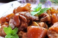 #美食感恩季#八分钟可以吃到嘴,最简单做法的美味猪蹄膀