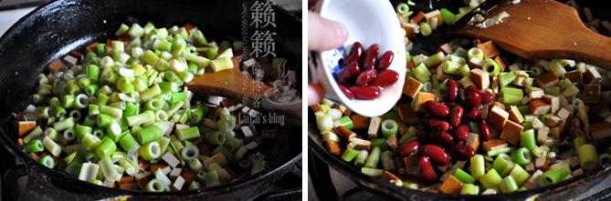 【小笋炒香干】佐粥下饭拌面三合一,十元钱成本刮脂菜!