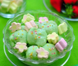 棉花糖和牛奶的爱恋——自制冰激凌