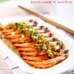 简单宴客菜·蒜蓉粉丝开边虾