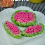 西瓜能当主食吃——西瓜饭团