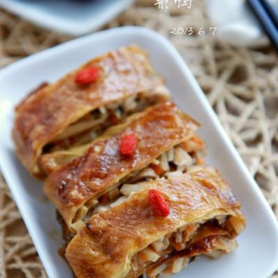 〖蘑菇宴第16道菜〗化素食为肉味儿的神奇——素鸭的家庭做法