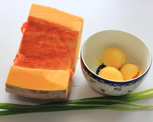 当南瓜遇上蛋黄----金沙南瓜的健康做法