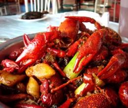 垂涎欲滴的潜江油焖大虾