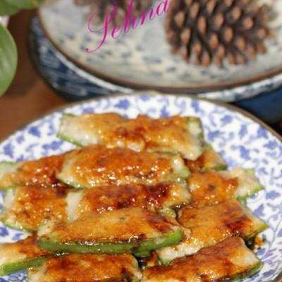 廣東特色菜-辣椒釀魚餅