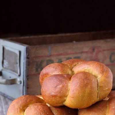 南瓜黑麦餐包-清淡不失柔软