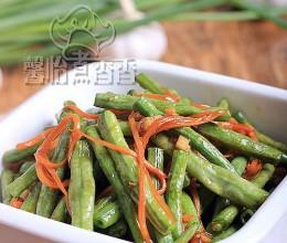 夏季清淡家常小炒----蚝油豇豆