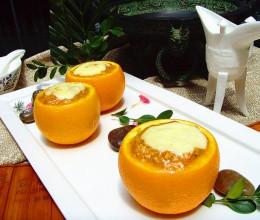 """""""螃蟹酿橙""""是我国流行千年的美饌"""