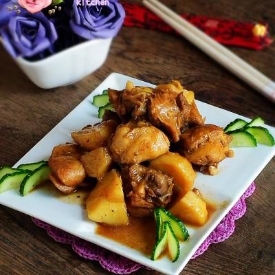 滋补家常菜---土豆炖鸡块