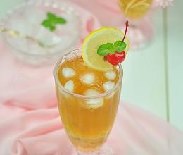 2元钱自制香港茶餐厅热门冰品——柠檬红茶