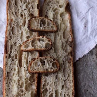 36小时天然酵种Teff粉法棍-埃塞俄比亚特色