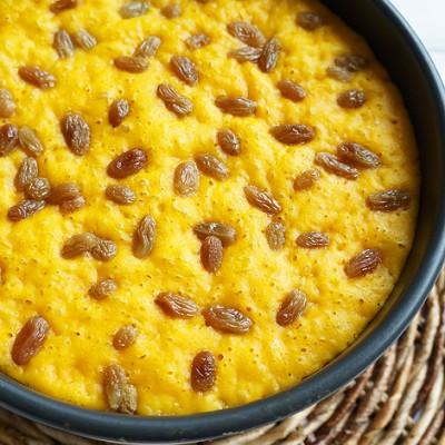金灿灿的私家黄金蒸糕-健康美味主食