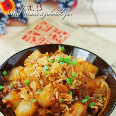 速食夏天——虾皮炒凉粉