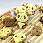 可爱熊猫立体饼干
