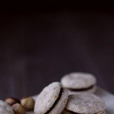 榛仁米粉酥饼-真的不是马卡龙