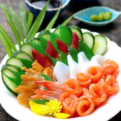 十分钟搞定有面子的宴客大菜:花样海鲜刺身