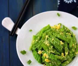 如何让苦瓜成为餐桌上受欢迎的祛暑菜---蛋包苦瓜