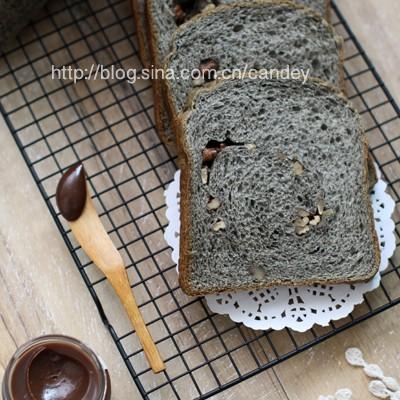 面包机使用总结篇2-----【黑芝麻核桃奶油吐司】